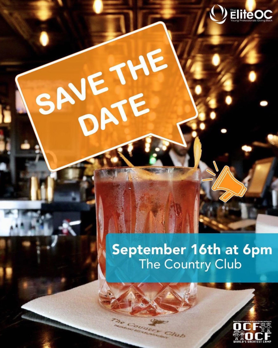 Save the date: September 16th at 6pm The Country Club